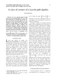 A class of corners of a Leavitt path algebra