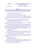 Nghị định số 74/2019/NĐ-CP