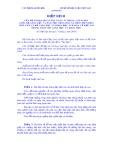 Hiệp định của Bộ Ngoại giao số 11/LPQT ngày 19 tháng 3 năm 2003 giữa Bộ Giáo dục và Đào tạo Cộng hoà Xã hội Chủ nghĩa Việt Nam và Bộ Giáo dục và Khoa học Ucraina về hợp tác trong lĩnh vực giáo dục và khoa học