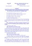 Nghịđịnhsố 161/2018/NĐ-CP: Sửa đổi, bổ sung một số quy định về tuyển dụng công chức, viên chức, nâng ngạch công chức, thăng hạng viên chức và thực hiện chế độ hợp đồng một số loại công việc trong cơ quan hành chính nhà nước, đơn vị sự nghiệp công lập