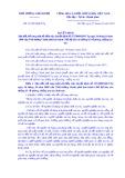 Quyếtđịnhsố 13/2019/QĐ-TTg: Sửa đổi, bổ sung một số điều của Quyết định số 127/2009/QĐ-TTg ngày 26 tháng 10 năm 2009 của Thủ tướng Chính phủ ban hành Chế độ báo cáo thống kê về phòng, chống ma túy