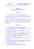 Nghịquyếtsố 49/2017/QH14: Về dự toán ngân sách nhà nước năm 2018