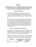 Hiệp định về thương mại hàng dệt và các sản phẩm hàng dệt từ bông, len, sợi nhân tạo, sợi thực vật ngoài bông và tơ tằm giữa Chính phủ Cộng hòa Xã hội Chủ nghĩa Việt Nam và Chính phủ Hợp Chủng quốc Hoa Kỳ