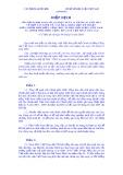 Hiệp định của bộ ngoại giao số 112/LPQT ngày 14 tháng 01 năm 2003 về hợp tác kinh tế, văn hoá, khoa học kỹ thuật giữa chính phủ nước Cộng hoà xã hội chủ nghĩa Việt Nam và chính phủ nước Cộng hoà Dân chủ Nhân dân Lào