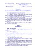 Thông tư số 03/2019/TT-BGTVT: Quy định về phòng, chống và khắc phục hậu quả thiên tai trong lĩnh vực đường bộ