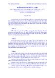 Hiệp định thương mại giữa chính phủ Cộng hoà Xã hội Chủ nghĩa Việt Nam và chính phủ Cộng hoà Liên bang Ni-Giê-Ri-A ngày 21 tháng 6 năm 2001