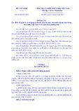 Thông tư số 58/2019/TT-BTC: Quy định về quản lý và sử dụng tài khoản của Kho bạc Nhà nước mở tại Ngân hàng Nhà nước Việt Nam và các ngân hàng thương mại