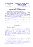 Quyếtđịnhsố 22/2019/QĐ-TTg: Về thực hiện chính sách hỗ trợ bảo hiểm nông nghiệp