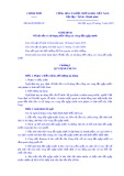 Nghịđịnhsố 66/2019/NĐ-CP: Về bảo tồn và sử dụng bền vững các vùng đất ngập nước
