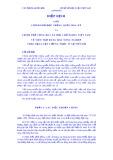 Hiệp định giữa chính phủ Hợp Chủng quốc Hoa Kỳ và chính phủ Cộng hoà Xã hội chủ Nghĩa Việt Nam về viện trợ hàng hoá nông nghiệp theo Đạo Luật lương thực vì sự tiến bộ