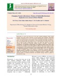 Changing trends in resistance pattern of Methicillin resistant staphylococcus aureus in burn patients