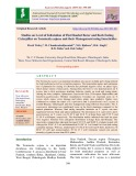 Studies on level of infestation of flat headed borer and bark eating caterpillar on Terminalia Arjuna and their management using insecticides