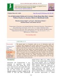 Use of information media and awareness status regarding dairy animal welfare practices in Jamtara district of Jharkhand, India