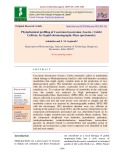 Phytochemical profiling of Coscinium fenestratum (Gaertn.) colebr cultivar, by liquid chromatography-mass spectrometry