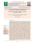 Effect of catchment and hydrology of ancient Dalpatsagar reservoir on water Resources of Jagdalpur City, Bastar, India
