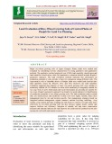 Land evaluation of rice-wheat growing soils of central plains of Punjab for land use planning