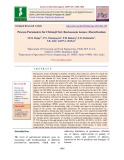 Process parameters for chironji nut (Buchanania lanzan.) decortication