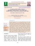 Correlation and path coefficient studies in bell pepper (Capsicum annuum L. var. grossum) under mid hill conditions of Solan district of Himachal Pradesh, India