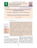 Genetic improvement of Berseem (Trifolium alexandrinum) in India: Current status and prospects