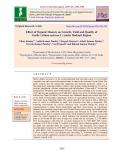 Effect of organic manure on growth, yield and quality of garlic (Allium sativum L.) under Hadauti region