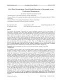 Cash flow restatements: Stock market reaction to overstated versus understated restatements