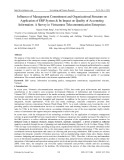 Influence of management commitment and organizational structure on application of ERP system & its impact on quality of accounting information: A survey in Vietnamese telecommunication enterprises