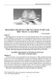 Hoạt động thanh toán thẻ ngân hàng ở Việt Nam: Thực trạng và giải pháp