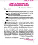Vận dụng lý thuyết nữ quyền phân tích phân công lao động theo giới trong các doanh nghiệp hiện ở Việt Nam hiện nay