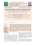 Effect of microclimatic regimes and nitrogen management on growth and yield of direct seeded rice (Oryza sativa L.) under rainfed condition