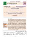 Effect of moisture and machine parameters on de-husking efficiency of Kodo millet