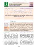 Genetic diversity analysis of different wheat [Triticum aestivum (L.)] varieties using SSR markers