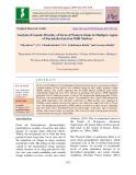 Analysis of genetic diversity of ferns of western Ghats in mudigere region of Karnataka based on issr markers