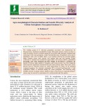 Agro-morphological characterization and genetic diversity analysis of cotton germplasm (Gossypium hirsutum L.)