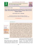 Impact of date of sowing and nutrient management on yield and nutrient uptake of bread wheat (Triticum aestivum L.) genotypes under late sown irrigated condition