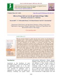 Effect of nano ZnO on growth and yield of finger millet [Eleusine coracana (L.) Garten.]
