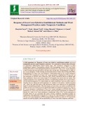 Response of sweet corn hybrid to establishment methods and weed management practices under temperate conditions