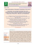 Origin and remediation of Melanoidin contamination in water sources