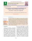 Determination of genetic relationship among wilt resistant and susceptible varieties of chickpea by RAPD markers