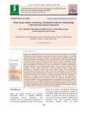Plant tissue culture technology: Sustainable option for mining high value pharmaceutical compounds