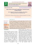 Effect of direct sowing and transplanting on yield performance of Indian mustard