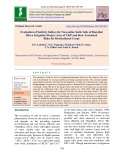 Evaluation of sodicity indices for non-saline sodic soils of Ramthal micro irrigation project area of UKP and their associated risks for horticultural crops