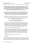 Hoạt tính kháng khuẩn của dịch chiết từ cây chó đẻ thân xanh (phyllanthus amarus) đối với vi khuẩn vibrio parahaemolitycus và vibrio sp. gây bệnh hoại tử gan tụy cấp trên tôm chân trắng (litopenaeus vannamei)