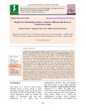 Depth wise distribution of heavy metals in different soil series of Northwestern India