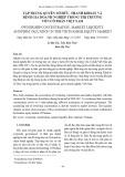 Tập trung quyền sở hữu, thanh khoản và định giá doanh nghiệp trong thị trường vốn cổ phần Việt Nam