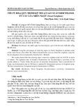 Tối ưu hóa quy trình kỹ thuật sản xuất bioethanol từ cây lúa miến ngọt (Sweet sorghum)