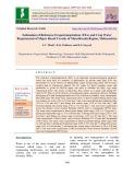 Estimation of reference evapotranspiration (ETO) and crop water requirement of major Kharif cereals of Marathwada region, Maharashtra