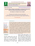 Long term effect of manure and fertilizers on chemical fractions of fe and mn in surface soils under rice-wheat system