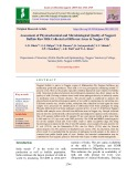 Assessment of physicochemical and microbiological quality of Nagpuri buffalo raw milk collected at different areas in Nagpur city