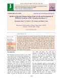 Studies on physical changes during fruit growth and development of different genotypes of Ber (Zizyphus mauritiana L.)