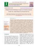 Biological control of Meloidogyne Incognita by Trichoderma harzianum